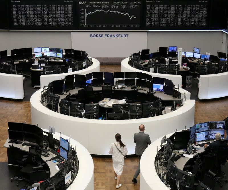 Stocks, euro rally on EU's massive recovery fund