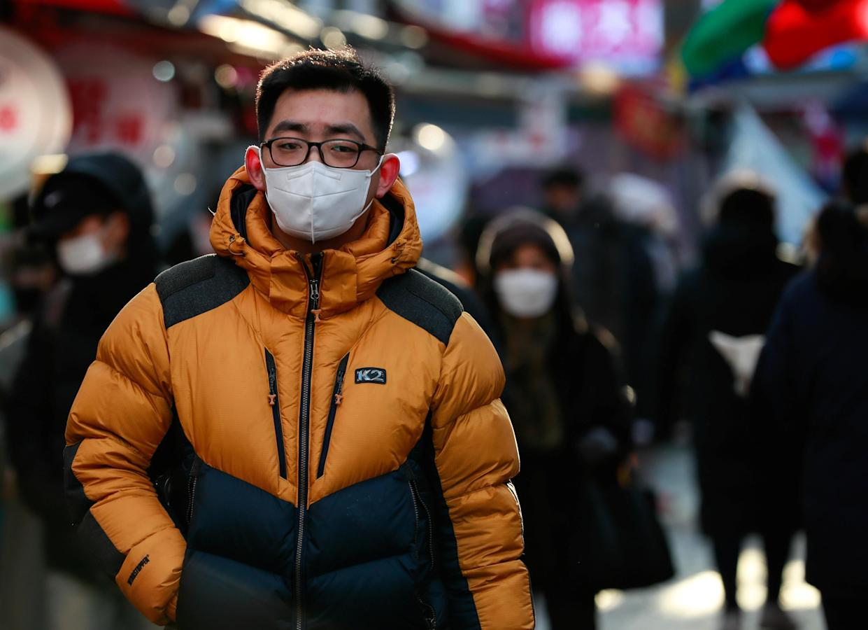 Cases have been rising sharply in Seoul in recent days. (Getty)