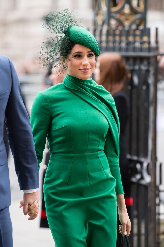 """A favourite among <em>Yahoo Canada</em> readers, <a href=""""https://ca.search.yahoo.com/search?p=MeghanMarkle&fr=fp-tts&fr2"""" data-ylk=""""slk:Meghan Markle"""" class=""""link rapid-noclick-resp"""">Meghan Markle </a>made headlines this year for """"stepping back"""" from life as a senior royal and forging a new path in the United States with husband, Prince Harry, and son, Archie Mountbatten-Windsor. The 39-year-old spent the year volunteering in the Los Angeles area, privately delivering meals to isolated and food insecure community members and families impacted by COVID-19. In June, the Duchess spoke passionately about the impact of systemic racism in the wake of the killings of George Floyd and Breonna Taylor during a convocation speech at her alma mater, Immaculate Heart High School. Markle would go on to become a fervent advocate for voters rights and even produced a sit-down interview with Gloria Steinem for <a href=""""https://ca.style.yahoo.com/meghan-the-duchess-of-sussex-my-conversation-with-gloria-steinem-151902708.html"""" data-ylk=""""slk:Makers Women;outcm:mb_qualified_link;_E:mb_qualified_link;ct:story;"""" class=""""link rapid-noclick-resp yahoo-link""""><em>Makers Women</em></a> on the importance of women exercising their right to vote. Despite suffering a miscarriage in July, the Duchess of Sussex penned a moving essay for the <a href=""""https://www.nytimes.com/2020/11/25/opinion/meghan-markle-miscarriage.html"""" rel=""""nofollow noopener"""" target=""""_blank"""" data-ylk=""""slk:New York Times"""" class=""""link rapid-noclick-resp""""><em>New York Times</em></a>, urging connection during a time of intense stress and anxiety."""