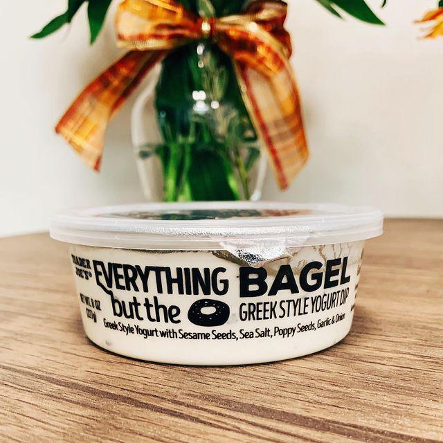 """<p>First there was the seasoning, now there's the dip. This Greek yogurt dip is mixed with sesame seeds, sea salt, poppy seeds, garlic, and onion and is great to use as a dip for veggies, crackers or, dare I say, everything bagels?</p><p><a href=""""https://www.instagram.com/p/B1-KeEOAvyl/"""" rel=""""nofollow noopener"""" target=""""_blank"""" data-ylk=""""slk:See the original post on Instagram"""" class=""""link rapid-noclick-resp"""">See the original post on Instagram</a></p>"""