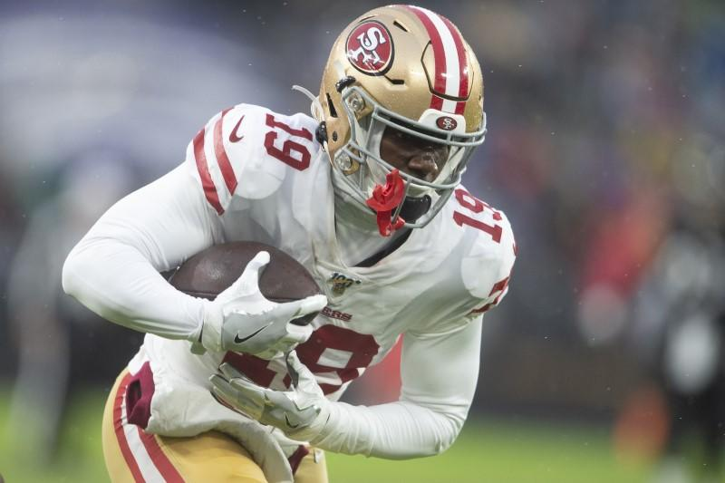 49ers activate WR Samuel, promote RB Hasty to roster