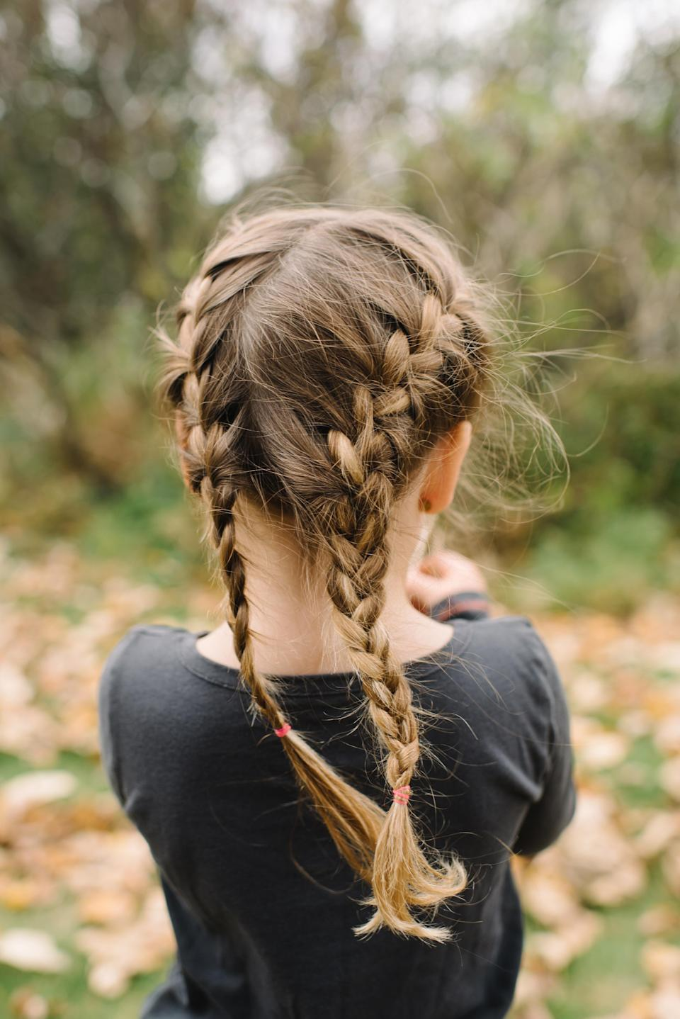 File photo of a girl with braids. (Photo: Shutterstock)