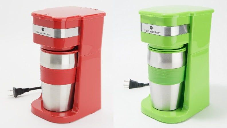This single-serve coffee maker is perfect for one who prefers small batches of coffee.