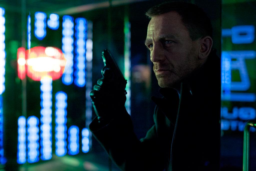 """Daniel Craig stars as James Bond in Columbia Pictures' """"<a href=""""http://movies.yahoo.com/movie/skyfall-2012/"""">Skyfall</a>"""" - 2012"""