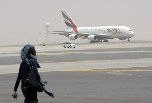 Emirates begins flights from superjumbo concourse