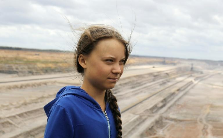 Swedish climate campaigner Greta Thunberg launched a campaign that has echoed among young people worldwide (AFP Photo/Oliver Berg)