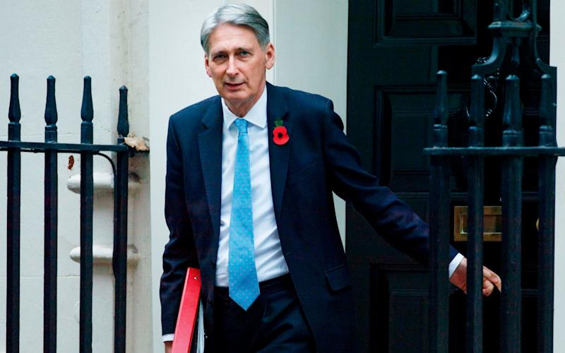 Britain's Chancellor of the Exchequer Philip Hammond - AFP
