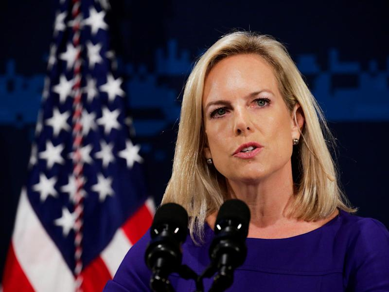 Kirstjen Nielsen announced plan on Saturday: REUTERS
