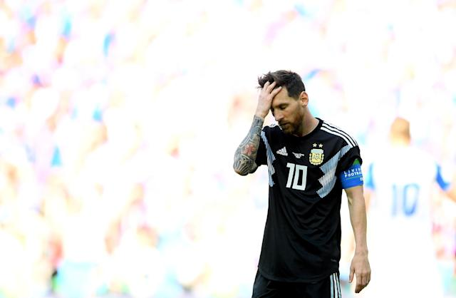 Lionel Messi failed to deliver for Argentina in its 1-1 draw with Iceland, while Cristiano Ronaldo netted a hat trick against Spain.
