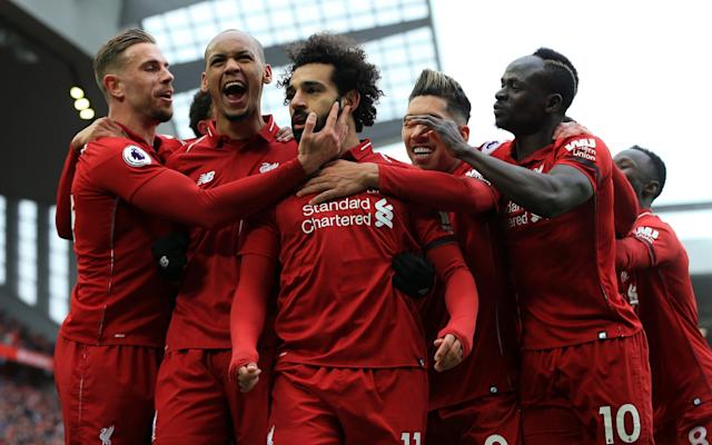 Salah's stunning goal doubled Liverpool's lead over Chelsea - Action Plus