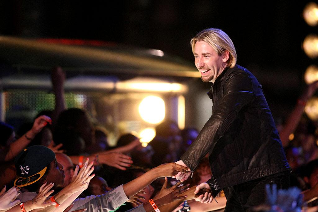 """Nickelback were the night's big winners, taking home awards for Video of the Year, MuchLOUD Rock Video of the Year, and Post Production of the Year. George Pimentel/<a href=""""http://www.wireimage.com"""" target=""""new"""">WireImage.com</a> - June 21, 2009"""