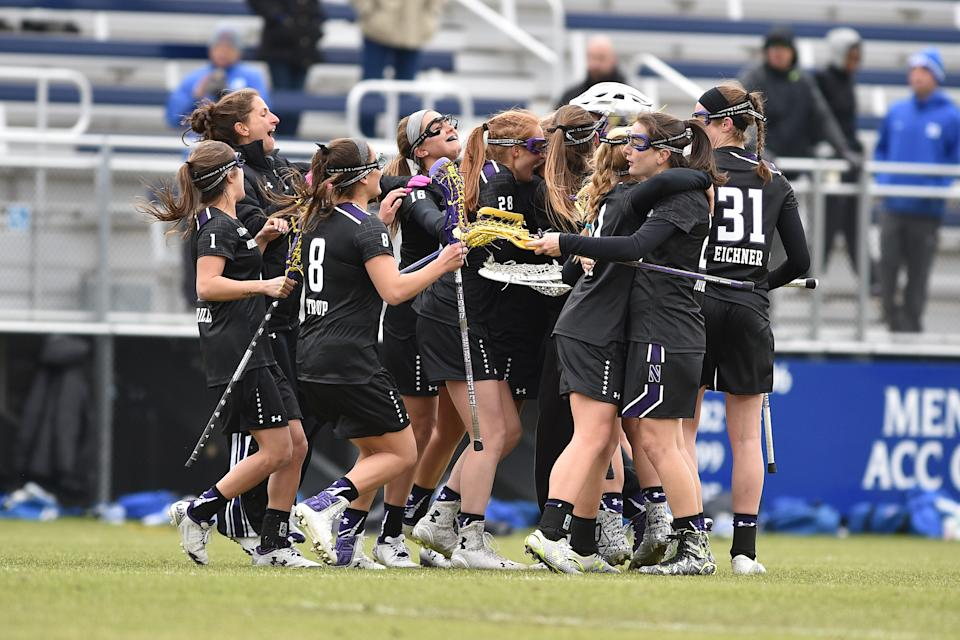 Best sport: women's lacrosse. Trajectory: down. The Wildcats slid 11 spots year-over-year, despite winning the Big Ten West outright in football for the first time. Reaching the women's lacrosse Final Four was the highlight; men's and women's basketball remain chronic lightweights. It may be several more years before the massive facility investment in Evanston pays off in a broad-based manner.