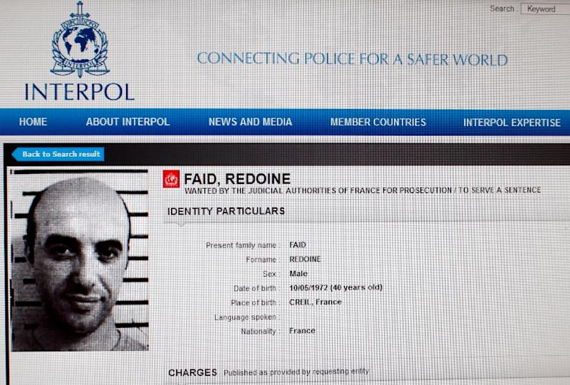 Notorious killer Redoine Faid escapes French jail by helicopter