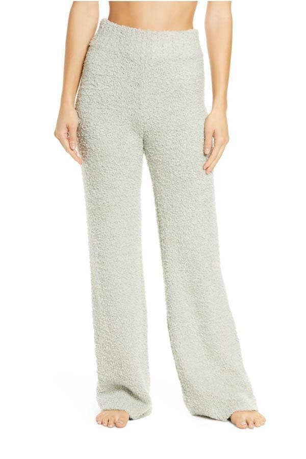 "The Skims hype is real, and these cozy knit pants are Instagram gold for your friend who's already planning a <a href=""https://www.glamour.com/story/keeping-up-with-the-kardashians-is-ending-after-14-years?mbid=synd_yahoo_rss"" rel=""nofollow noopener"" target=""_blank"" data-ylk=""slk:KUWTK"" class=""link rapid-noclick-resp"">KUWTK</a> rewatch marathon. Complete their look with the matching tank and they'll tag you in every mirror selfie. $78, Nordstrom. <a href=""https://www.nordstrom.com/s/skims-cozy-knit-pants/5714000"" rel=""nofollow noopener"" target=""_blank"" data-ylk=""slk:Get it now!"" class=""link rapid-noclick-resp"">Get it now!</a>"