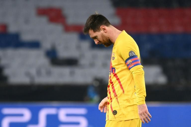 Lionel Messi scored one brilliant goal but also missed a penalty as Barcelona went out against Paris Saint-Germain on Wednesday