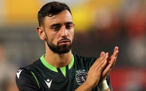 <span>Bruno Fernandes is a reported target for Manchester United</span> <span>Credit: GETTY IMAGES </span>
