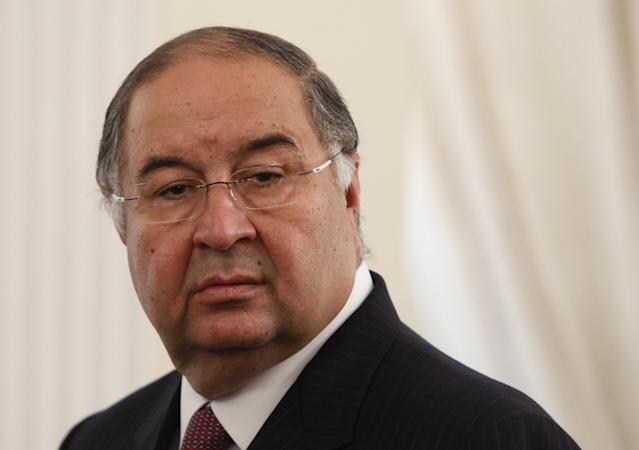 Former Arsenal shareholder Alisher Usmanov