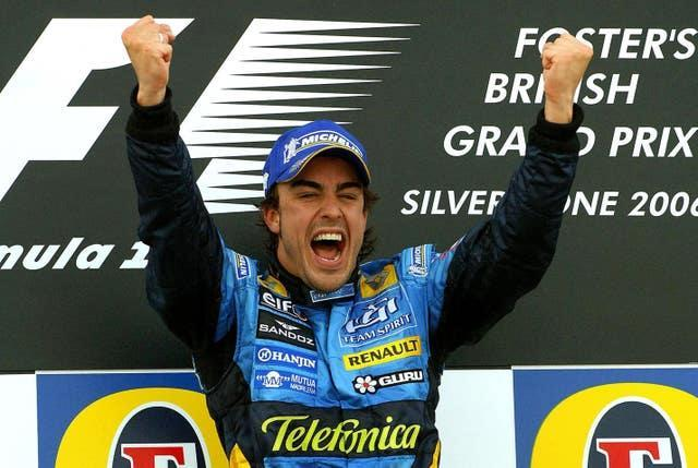 Fernando Alonso was world champion in 2005 and 2006