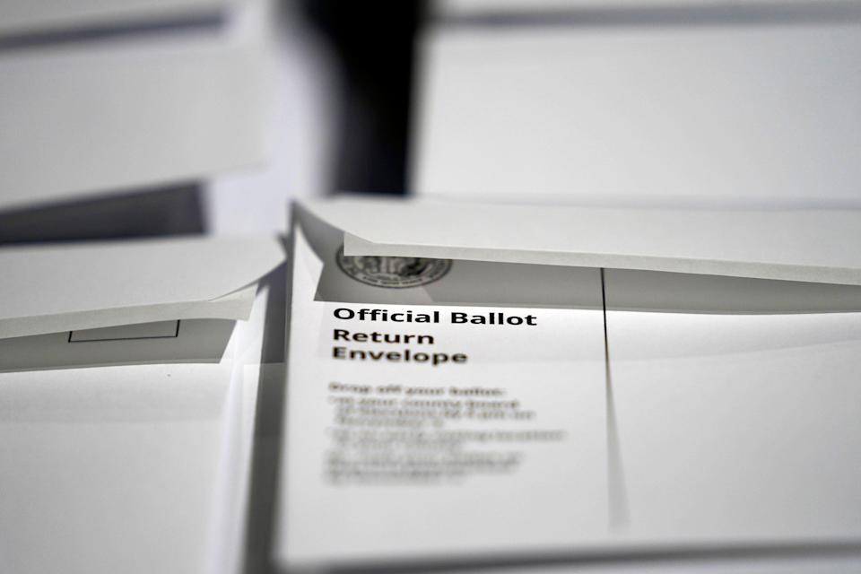 Election 2020 North Carolina Ballots (Copyright 2020 The Associated Press. All rights reserved)