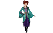 <p>Aspiring witches will love dressing up like Winifred Sanderson in this long sleeved purple and green <span>Tween Winifred Sanderson Costume</span> ($45).</p>