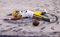 "<p>Because at the end of the day, players shouldn't be rolling around <a href=""https://www.sbnation.com/lookit/2016/12/4/13835554/snow-angel-packers-texans-49ers-bears-randall-cobb"" rel=""nofollow noopener"" target=""_blank"" data-ylk=""slk:in the snow"" class=""link rapid-noclick-resp"">in the snow</a> when they win a game. Save it for after the game, people.</p>"
