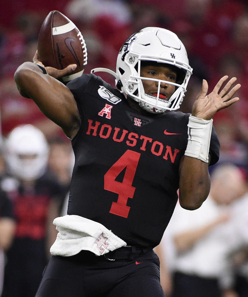 Ex-Houston QB D'Eriq King announces transfer to Miami