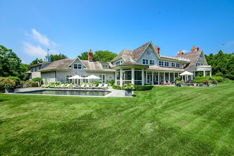 Harvey Weinstein's 9,000 sq. ft. Amagansett home.