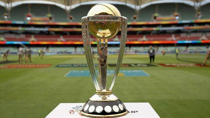 The 2019 ICC World Cup Trophy