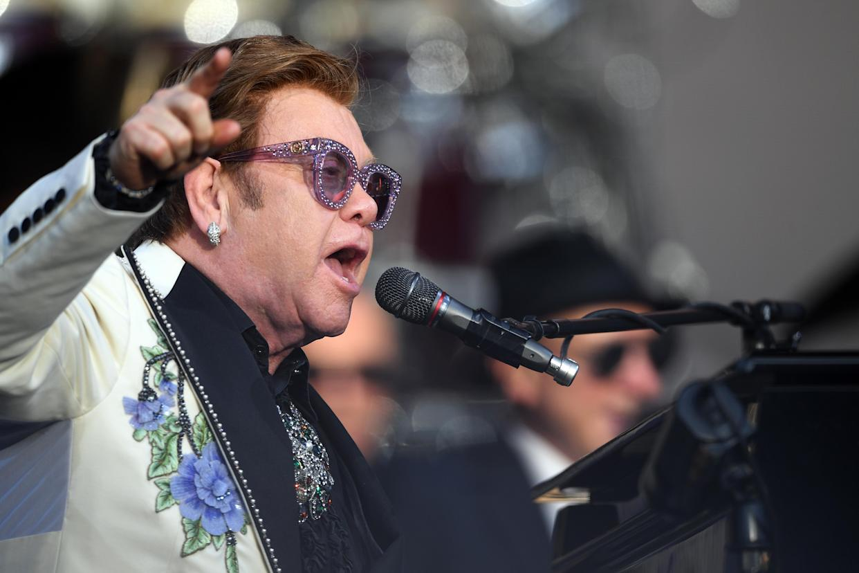 Elton John has announced the final dates of his Farewell Yellow Brick Road tour. (Photo by Kerry Marshall/Getty Images)