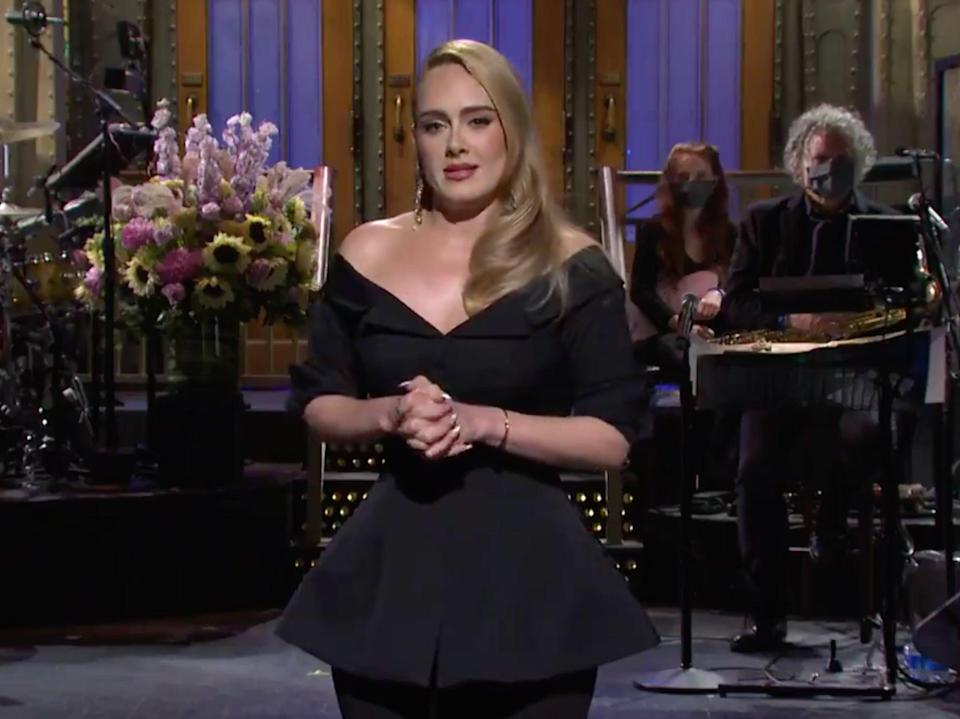 Adele hosting SNL on 24 October (Twitter/NBCSNL)