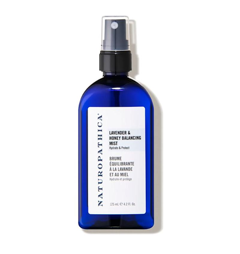 """Using a toner right after cleansing ensures any leftover impurities are removed. Spritz throughout the day (even over makeup) to keep your glow going. It also balances the pH level in the skin, leaving  your acid mantle nice and strong. My favorite for the past seven years has been this Naturopathica Lavender Honey Mist.""<strong> &mdash; Serron at</strong> <strong><i>HeyDay</i></strong>. Find it for $34 at <a href=""https://fave.co/2yKwMRe"" target=""_blank"" rel=""noopener noreferrer"">Dermstore</a>."