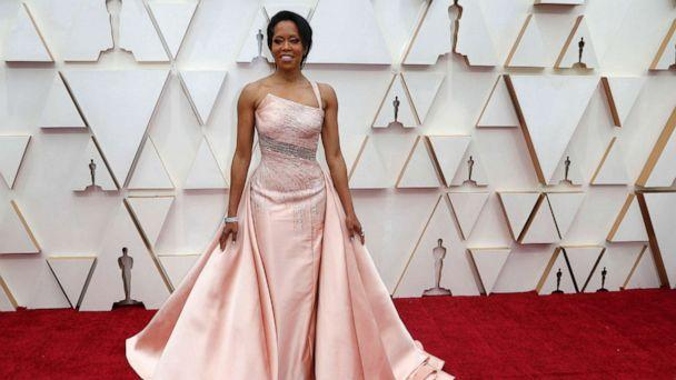 PHOTO: Regina King poses on the red carpet during the Oscars arrivals in Hollywood, Calif., Feb. 9, 2020. (Eric Gaillard/Reuters)