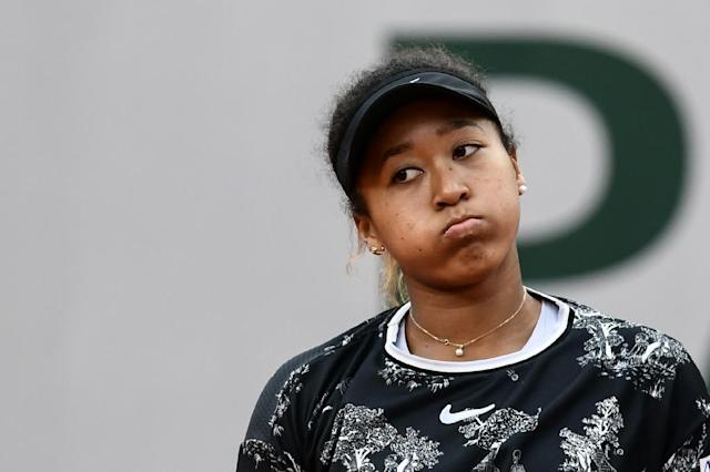 Naomi Osaka could be deposed as world number one after defeat in the Birmingham Classic (AFP Photo/Philippe LOPEZ)