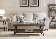 <p>We love the look of this <span>Emerald Home Chandler Rustic Coffee Table </span> ($185, originally $276).</p>