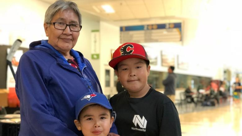 Hockey camp brings Yukon kids from far and wide, to skate with pros