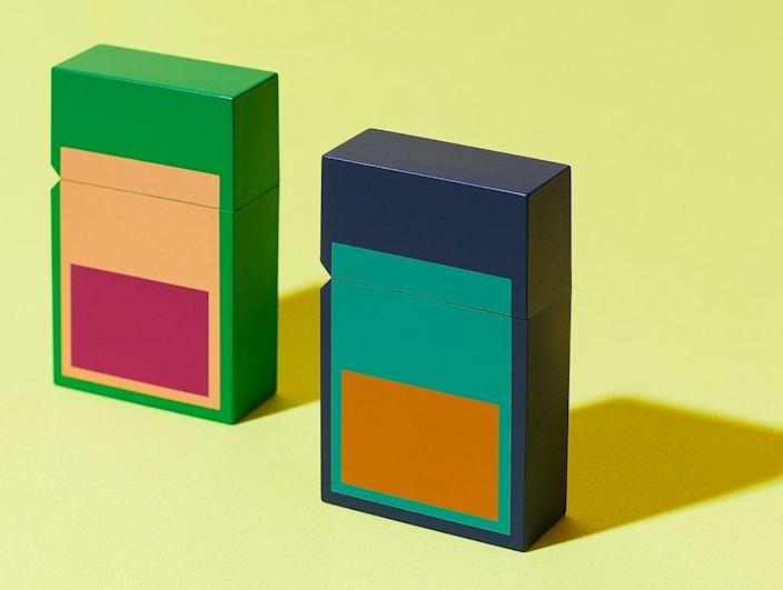 """A collaboration between Tetra and Japanese brand Tsubota Pearl, these polycarbonate lighters—available in two colorways—will upgrade your tabletop. $45, Tetra. <a href=""""https://www.shop-tetra.com/products/portal-lighter?variant=37457403281607"""" rel=""""nofollow noopener"""" target=""""_blank"""" data-ylk=""""slk:Get it now!"""" class=""""link rapid-noclick-resp"""">Get it now!</a>"""
