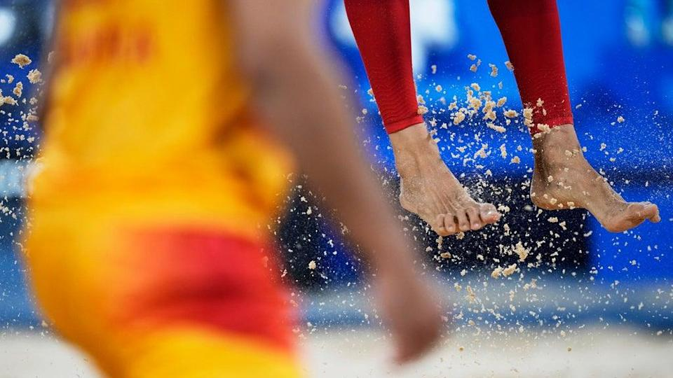 Tokyo Olympics Beach Volleyball (Copyright 2021 The Associated Press. All rights reserved)