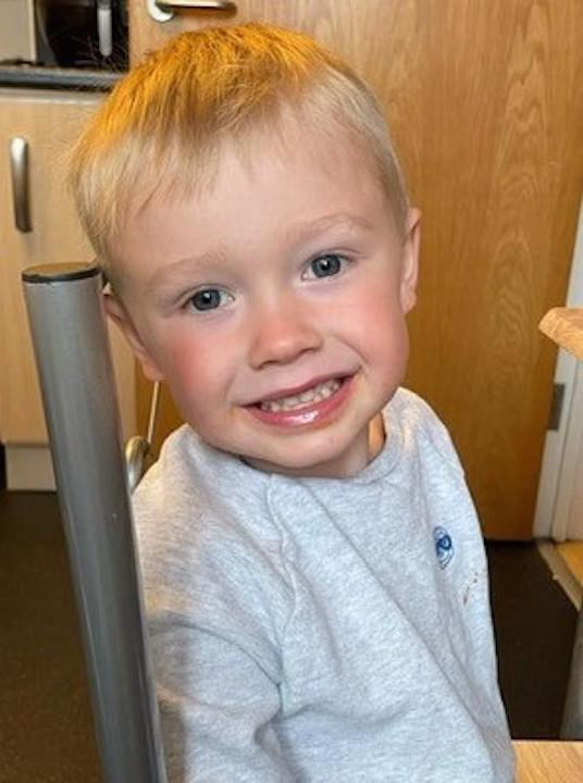 Three-year-old Ianto Jenkins was killed while playing on his bike. (Reach)