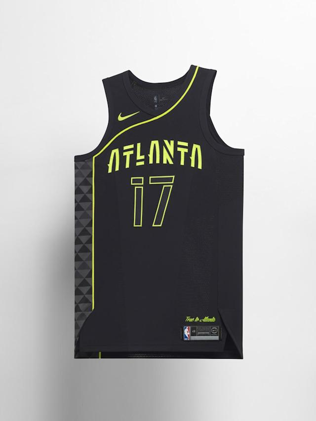 Atlanta Hawks City uniform. (Nike)