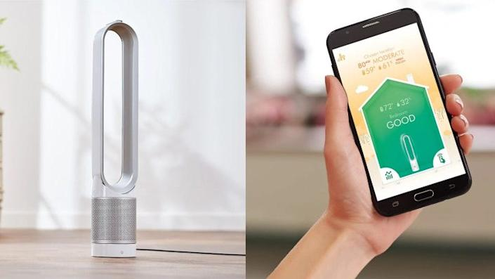 Get cool with purified air