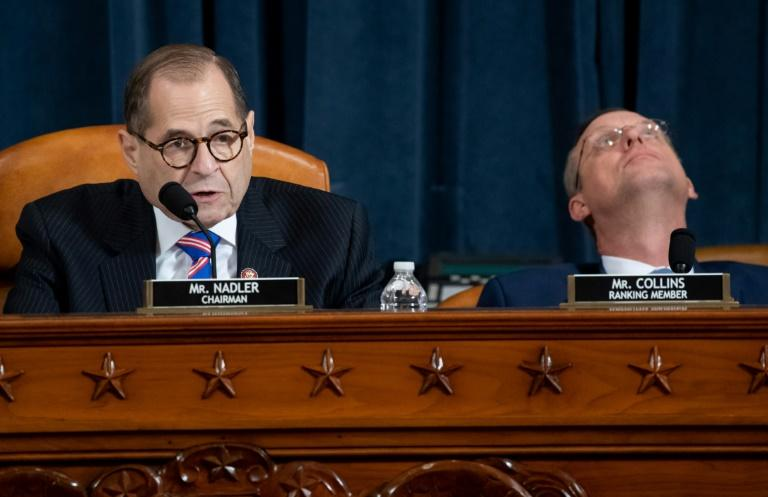House Judiciary Chairman Jerry Nadler (R) accused Donald Trump of inviting foreign interference in US elections, while Doug Collins, the senior Republican on the panel, rejected the push to impeach Trump as purely partisan