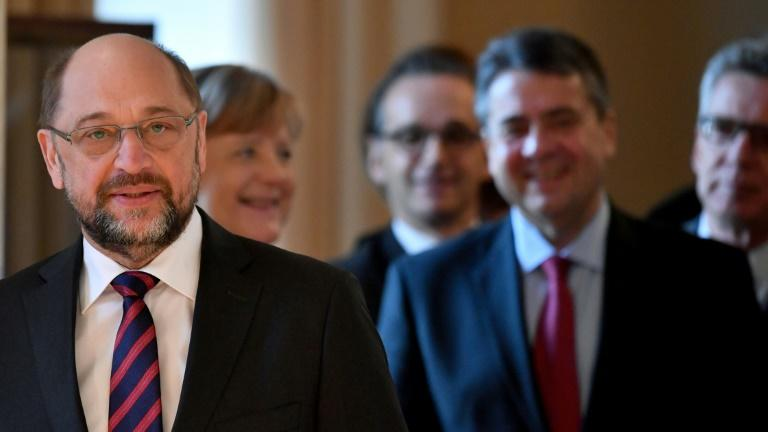 Outgoing minister Sigmar Gabriel has said Maas will do an 'excellent job'