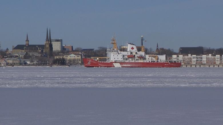 Cold snap forces Coast Guard icebreakers to get cracking