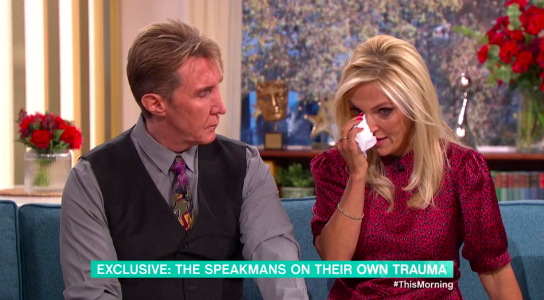 Eva Speakman admitted she had been embarassed to speak out (Credit: ITV)