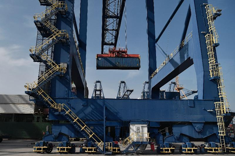 Cosco says it has ambitious plans for the port of Piraeus (AFP Photo/LOUISA GOULIAMAKI)