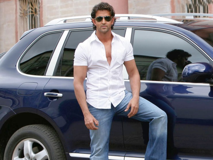 Hrithik Roshan: He owns a black Jaguar XJ and it's an amazing car.