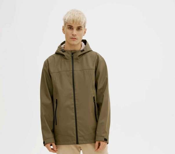 The Theo Rain Jacket by Noize is a gift that will come in handy on wetter days. Photo courtesy of Noize