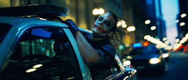 "No Joke Heath Ledger's portrayal of The Joker in 2008's ""The Dark Knight"" was a performance for the ages, winning Ledger a posthumous supporting actor Oscar. But while The Joker's effect on Batman's fictional psyche is no doubt immense, out of respect for Ledger, director Nolan refused to reference The Joker in ""The Dark Knight Rises."" ""We're not addressing The Joker at all. That is something I felt very strongly about in terms of my relationship with Heath and the experience I went through with him on 'The Dark Knight.' I didn't want to, in any way, try and account for a real-life tragedy. That seemed inappropriate to me. We just have a new set of characters and a continuation of Bruce Wayne's story, not involving The Joker,"" Nolan told Empire Magazine."