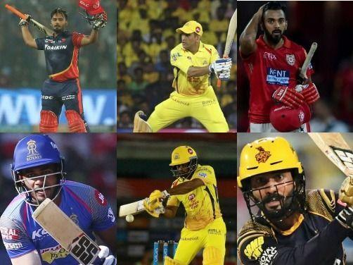IPL's top wicket-keepers - Rishabh Pant, MS Dhoni, KL Rahul, Sanju Samson, Kedar Jadhav and Dinesh Karthik