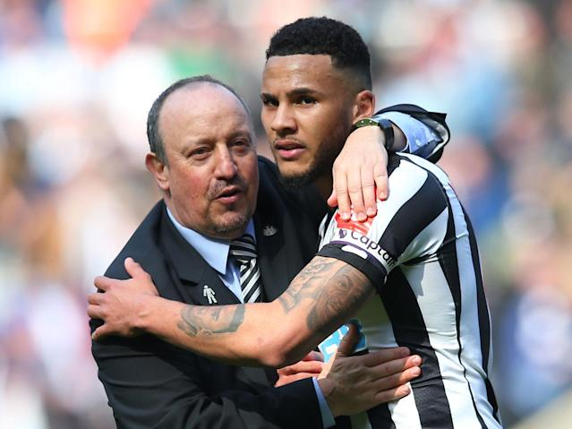 Rafa Benitez 'dreaming' with Newcastle all but safe with five games to spare